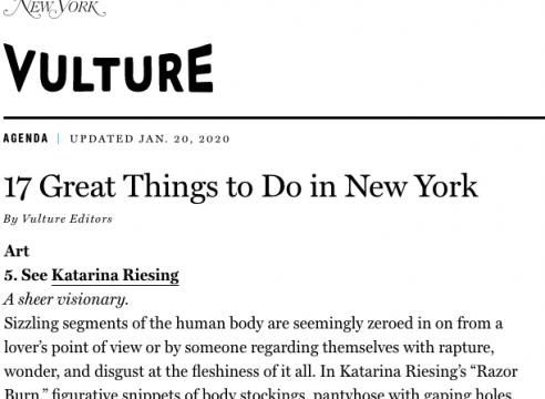 Article in New York Magazine