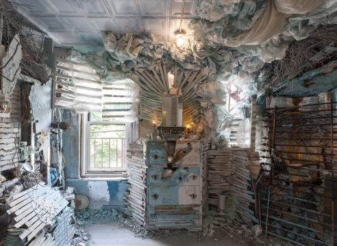site-specific installation by Julie Schenkelberg