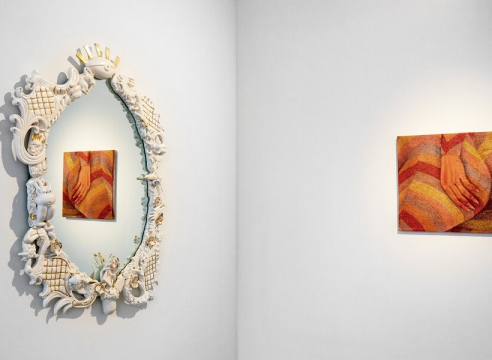 """Press: Cool Hunting, """"Dinner Gallery's Harmonious 'Magic Touch' Group Exhibition, by David Graver"""