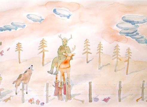 Melanie Daniel work on paper