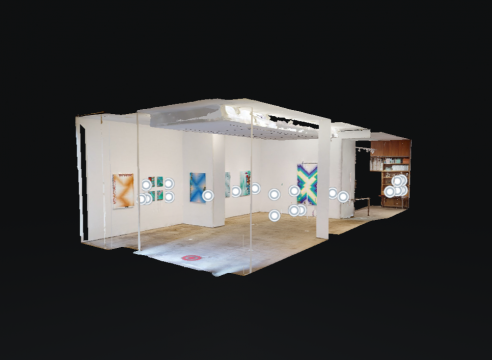 """Todd Kelly's """"Settings"""" in Artland 3D - Take a 3D virtual tour of the exhibition if you can't make it to NYC"""
