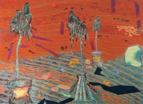 Melanie Daniel painting detail
