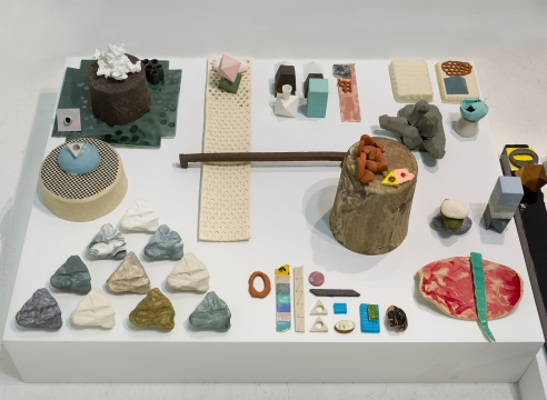 Ceramic installation by Marjolijn de Wit