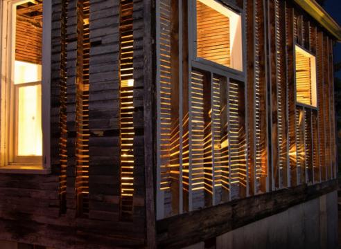 Julie Schenkelberg house installation