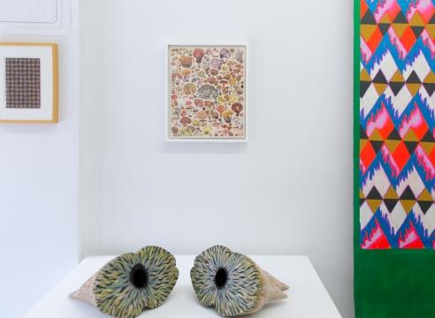 Matthew Craven installation in group show