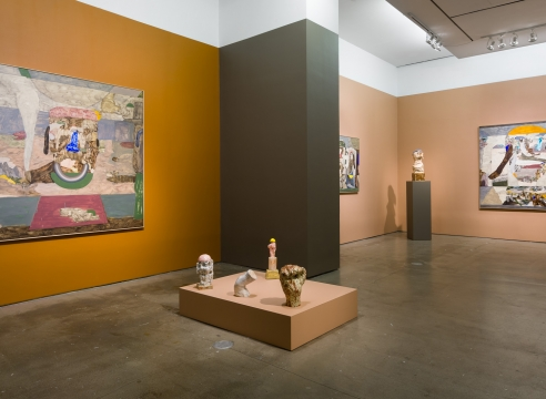 installation of Gudmundur Thoroddsen works
