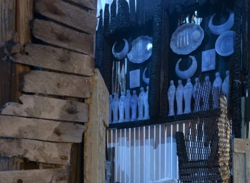Julie Schenkelberg installation