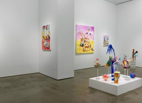 installation of Melanie Daniel works