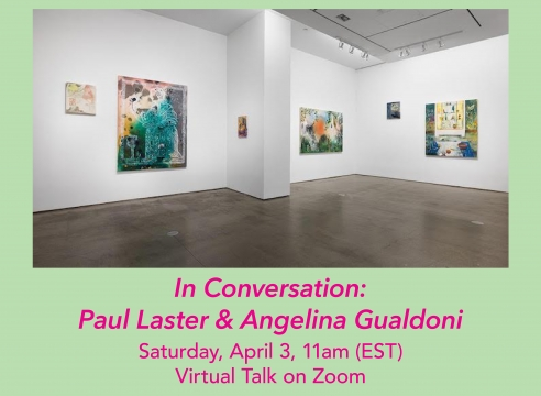 Zoom talk with Angelina Gualdoni and Paul Laster