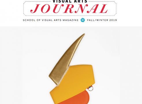 Visual Arts Journal: School of Visual Arts Magazine, Fall/Winter 2019
