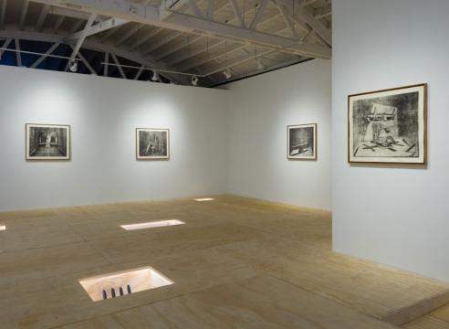 installation view, Journeyman; images courtesy Klowden Mann Gallery.