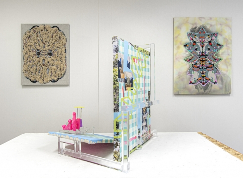 Installation view of Todd Kelly at Spring Break