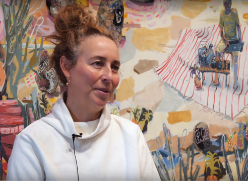 """Interview: Melanie Daniel talks with Kelowna Art Gallery about her solo exhibition """"Goin' Where the Climate Suit My Clothes"""""""