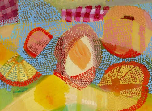 Painting on panel by Carolyn Case