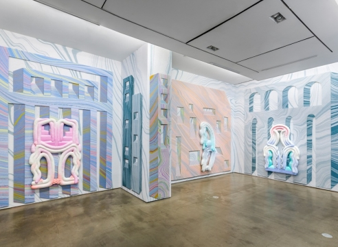 Lauren Clay installation