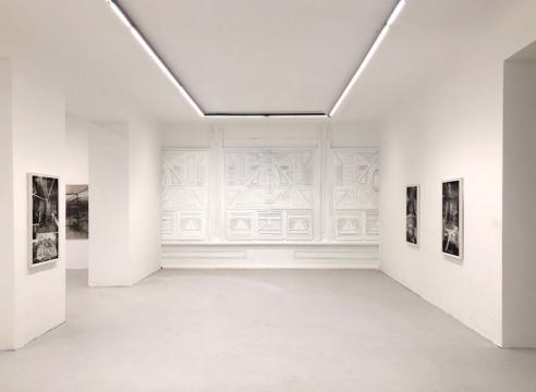 Installation of Rodrigo Valenzuela's works