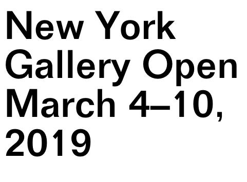 NADA New York Gallery Open