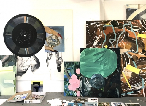 """Marjolijn de Wit Interview: Trendbeheer, """"Artist spotlight and studio visit with Marjolijn de Wit"""", by Najiba Brakkee"""
