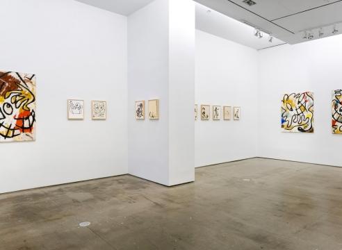 installation of Ricardo Gonzalez pieces