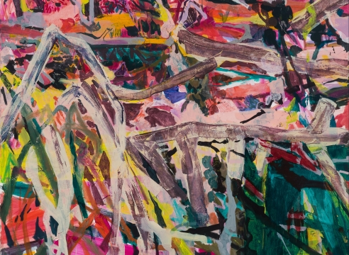 Oil painting on canvas by Allison Gildersleeve