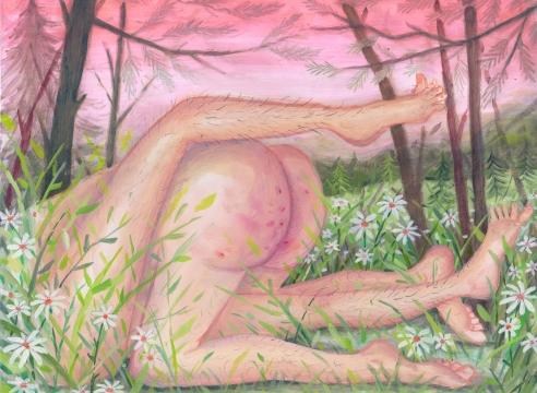 Rebecca Morgan oil painting