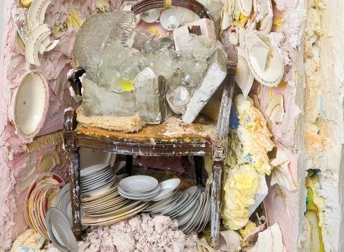Julie Schenkelberg installation detail