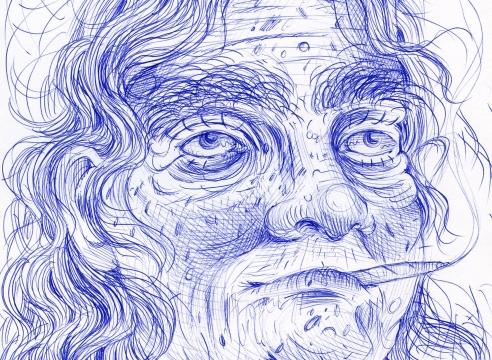 Rebecca Morgan drawing