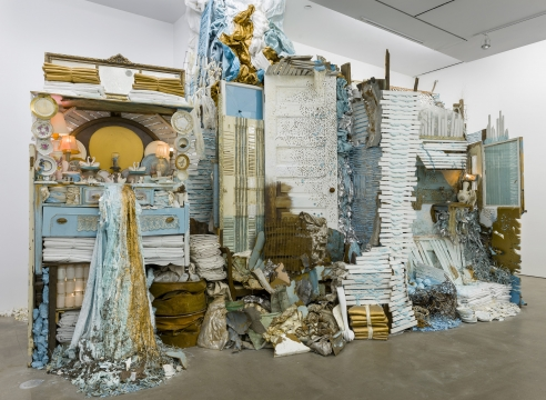 mixed media installation by Julie Schenkelberg