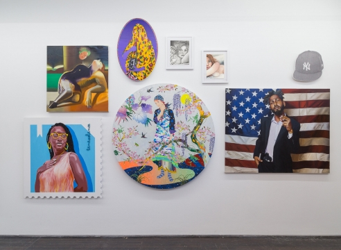 """Rebecca Morgan in the Group Exhibition: """"We Used to Gather"""", at Library Street Collective, Detroit, MI"""