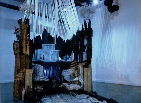 Julie Schenkelberg site-specific installation