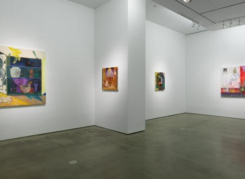 installation of Angelina Gualdoni works