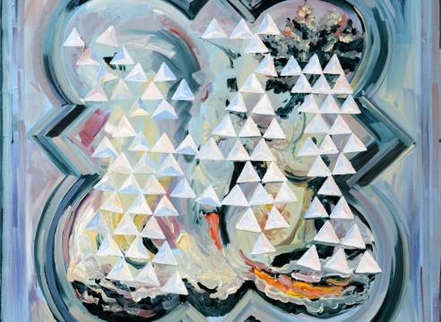 Marjolijn de Wit oil painting