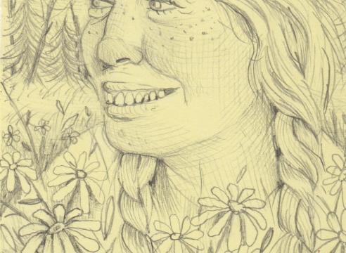 Drawing by Rebecca Morgan