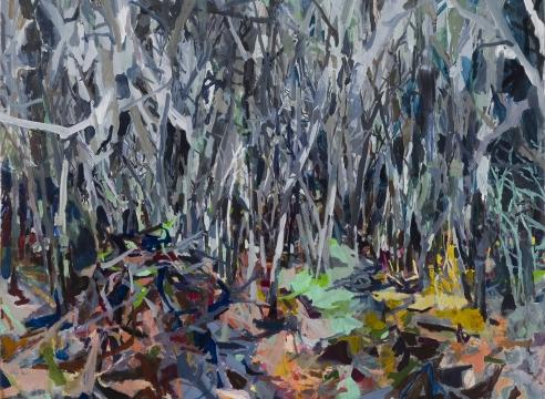 detail of painting by Allison Gildersleeve