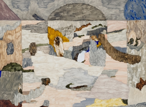 Oil painting by Gudmundur Thoroddsen