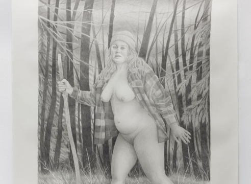 Work on paper by Rebecca Morgan