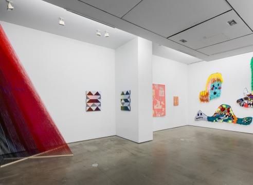 Group exhibition installation