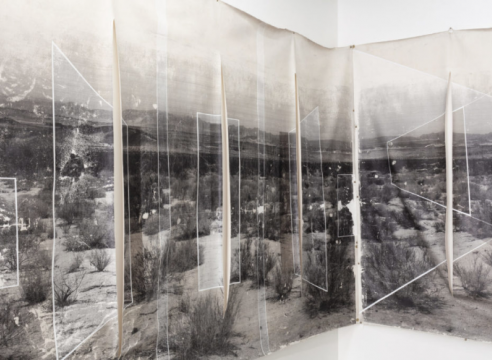 Rodrigo Valenzuela, Installation view of Arena, 2018 (Cloaca Projects, San Francisco)