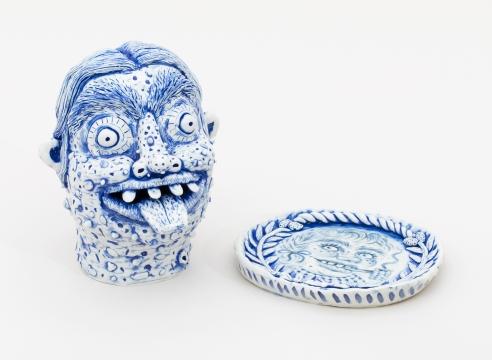 Rebecca Morgan porcelain sculptures