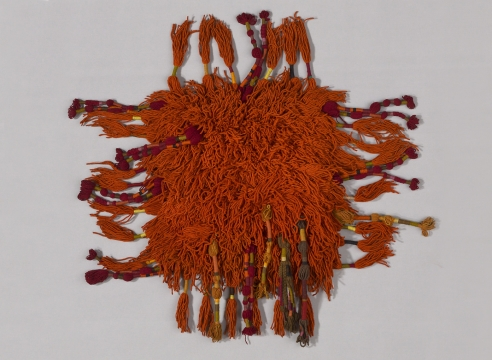 """Sheila Hicks """"In a Cloud, in a Wall, in a Chair: Six Modernists in Mexico at Midcentury"""""""