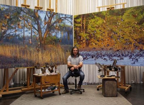 THE ART OF CONSERVATION,  Guest Speaker: John Banovich, Artist/Conservationist