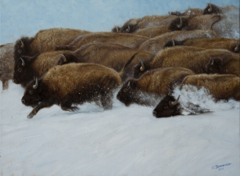 John Banovich exhibiting at the Western Visions 31st Annual Show & Sale