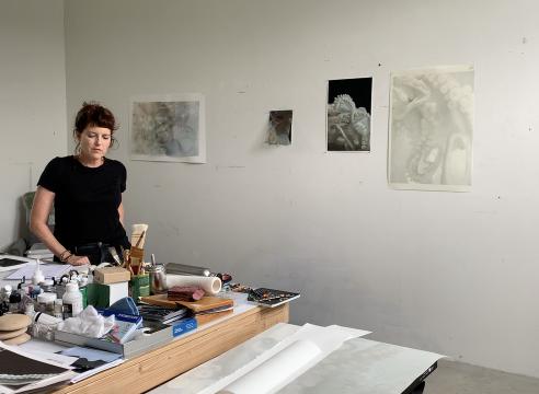 Studio Visit with Liza Ryan