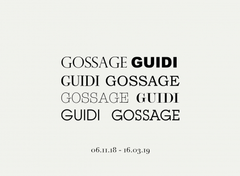 JOHN GOSSAGE / GUIDO GUIDI