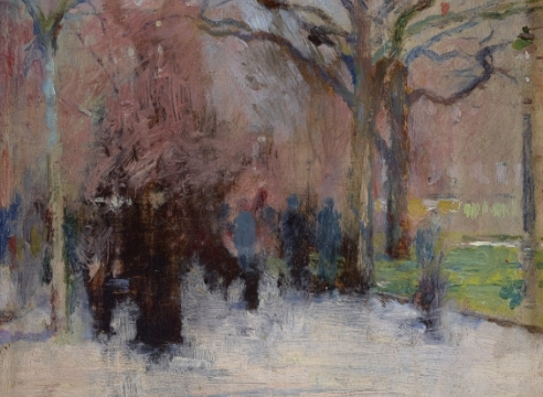 American Impressionists and 20th Century Works on Paper: Featuring Two Private Collections