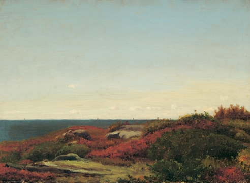 A Diary Illuminated: Oil Sketches by Jervis McEntee