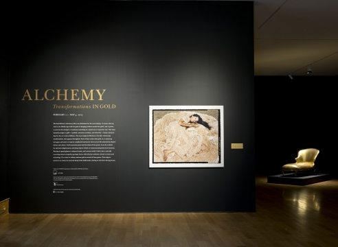 """Alchemy: Transformations in Gold"" at the Des Moines Art Center"