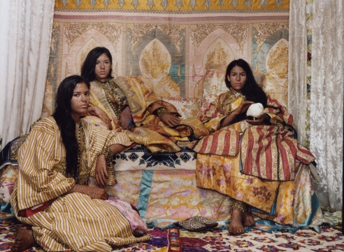 Lalla Essaydi Challenges Muslim, Gender Stereotypes at Museum of African Art