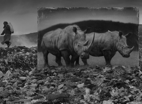 Nick Brandt's 'Inherit the Dust' photos track Africa's tragic urban sprawl