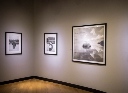 Arno Rafael Minkinnen at the Southeast Museum of Photography